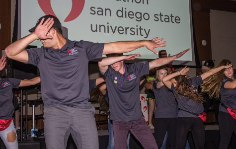 Annual Aztec Dance Marathon sends students grooving for a good cause