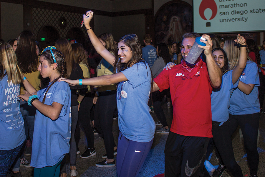 Aztec Dance Marathon raises money for local children's hospitals.