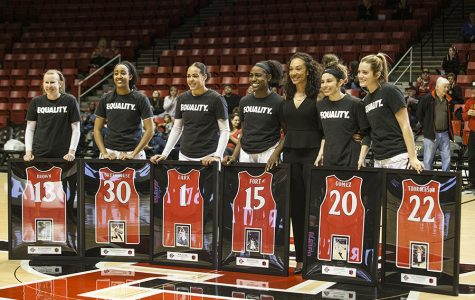 Aztecs toast Senior Day with 85-78 victory over SJSU