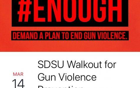 A screenshot of the Facebook event for Wednesday's gun violence walkout event.