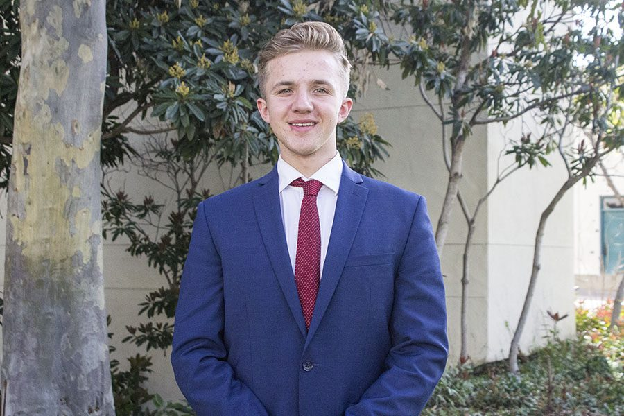 A.S. executive vice presidential candidate Nick Wohlman