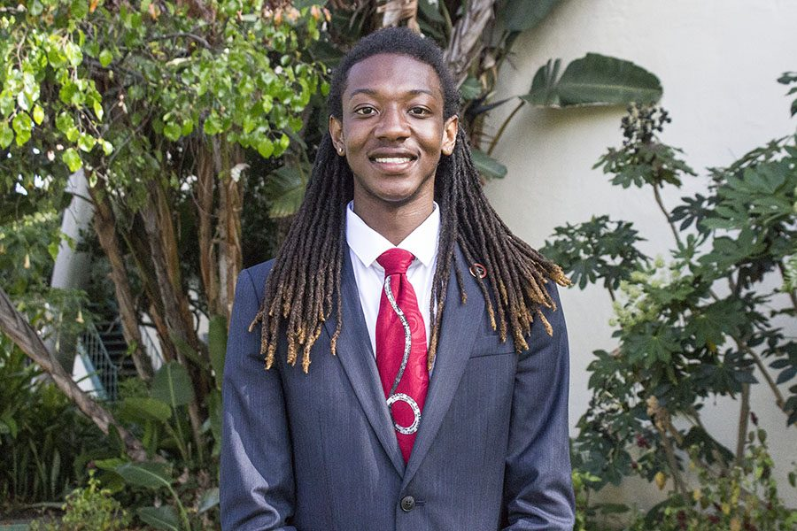 A.S. vice president of university affairs candidate Ronnie Cravens