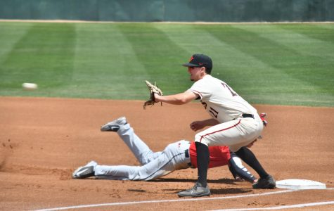 Aztecs complete series sweep of UNLV with 4-2 victory