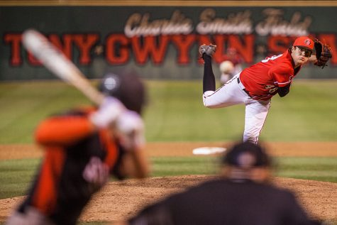 Baseball defeats San Jose State 2-1 in opening round of MW Championship tournament