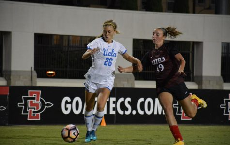 SDSU overwhelmed by No. 8 UCLA in 3-0 home defeat