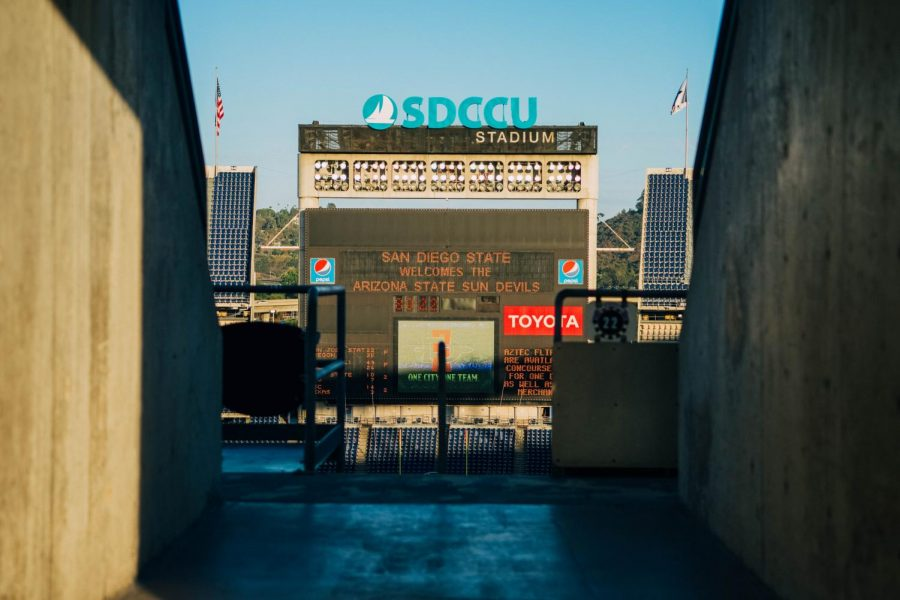 The+SoccerCity+and+SDSU+West+initiatives+will+face+off+in+November+in+hopes+of+developing+on+the+site+of+the+SDCCU+stadium+in+Mission+Valley.