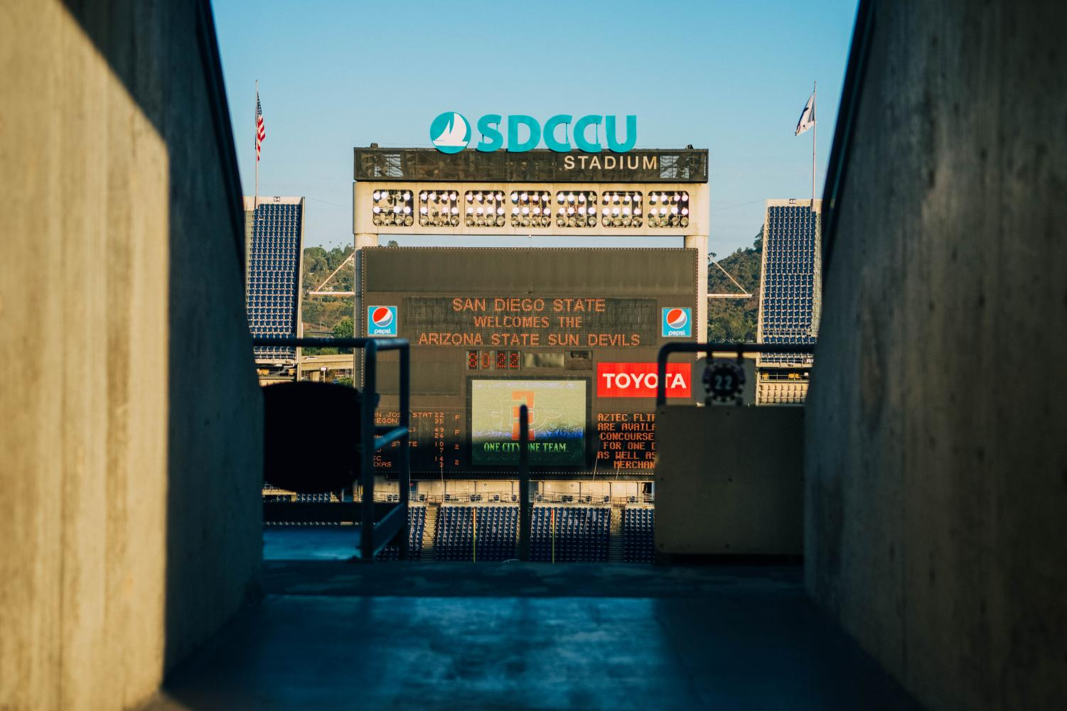 The SoccerCity and SDSU West initiatives will face off in November in hopes of developing on the site of the SDCCU stadium in Mission Valley.