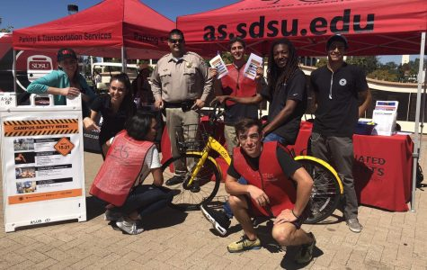 Students talk campus safety with SDSUPD