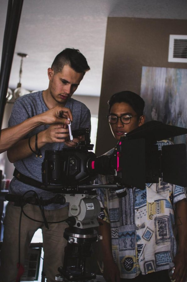Student filmmakers form unlikely partnership for