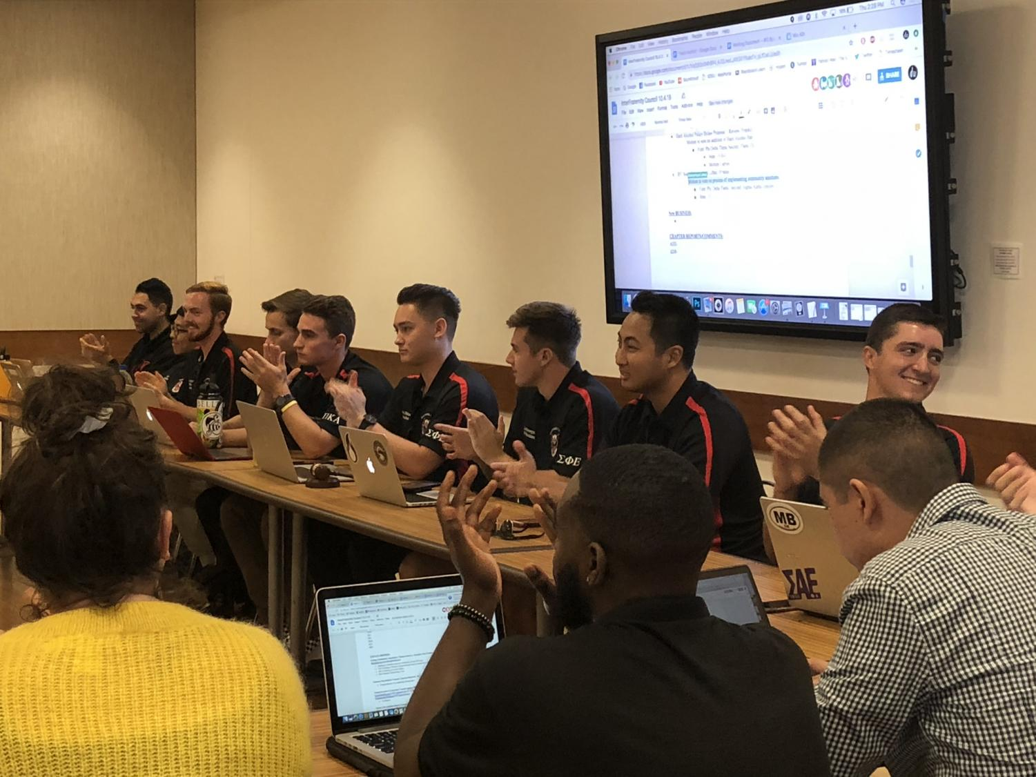 SDSU's Interfraternity Council unanimously voted on Oct. 4 to to end a months-long social moratorium and impose a ban on hard alcohol.