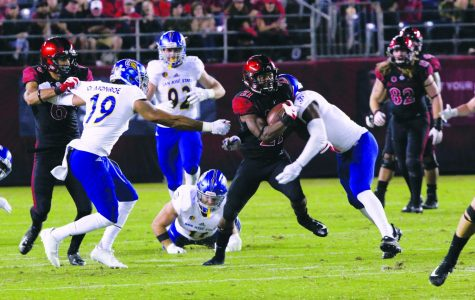 Aztecs still looking for answers at running back with Washington injured
