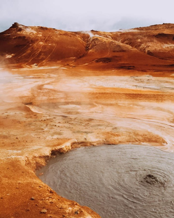 Boiling+mud+is+one+of+several+instances+of+geothermal+activity+at+N%C3%A1mafjall+in+Iceland.