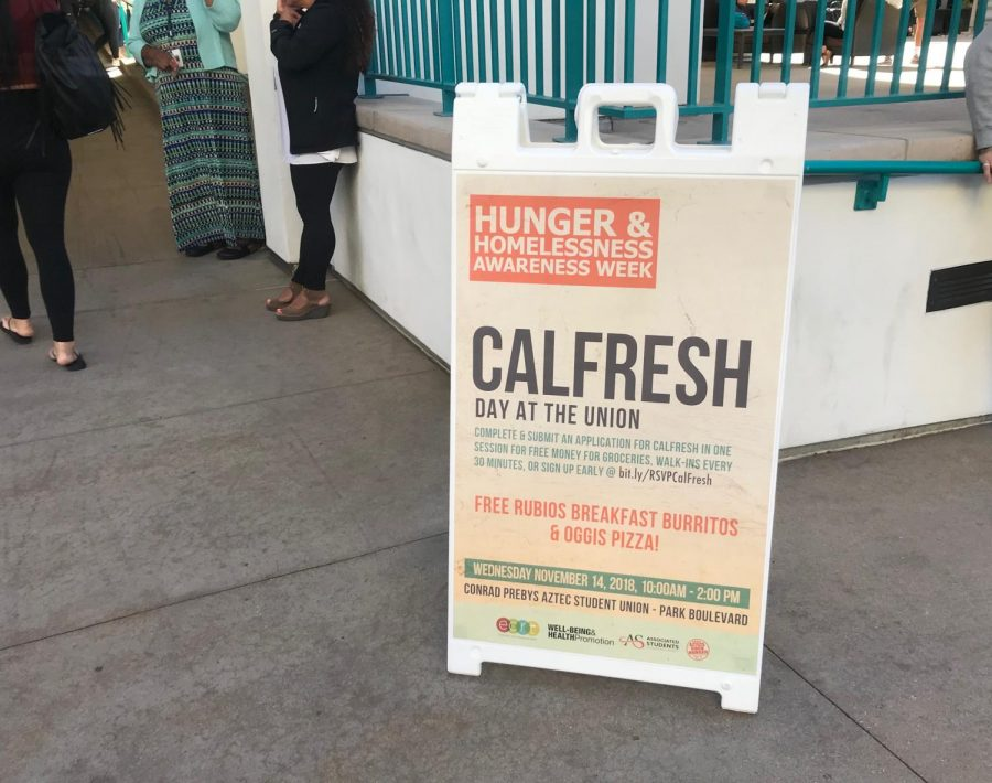 Students+had+the+opportunity+to+enroll+for+CalFresh+in+the+student+union+as+part+of+a+Nov.+14+event.