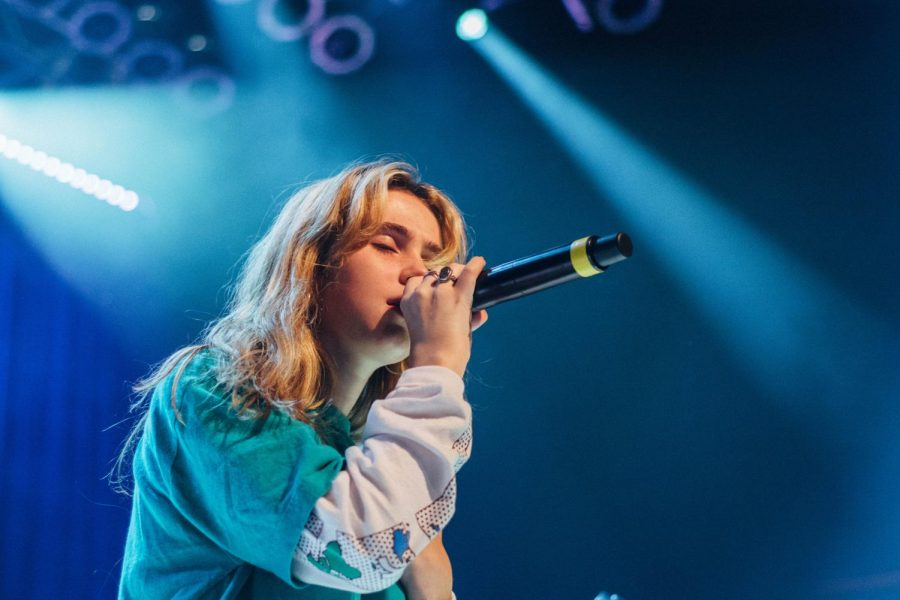 Dream pop artist Clairo performed at San Diego's House of Blues Nov. 2.