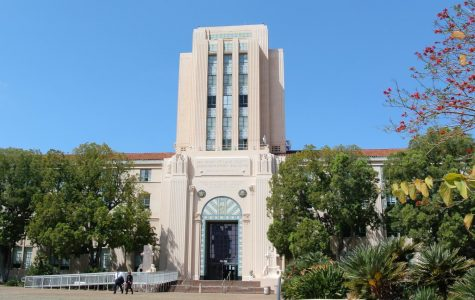 San Diego City and County administrative building. Photo courtesy of WikiMedia Commons.