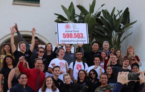 Aztecs Rock Hunger again collects record high number of food donations