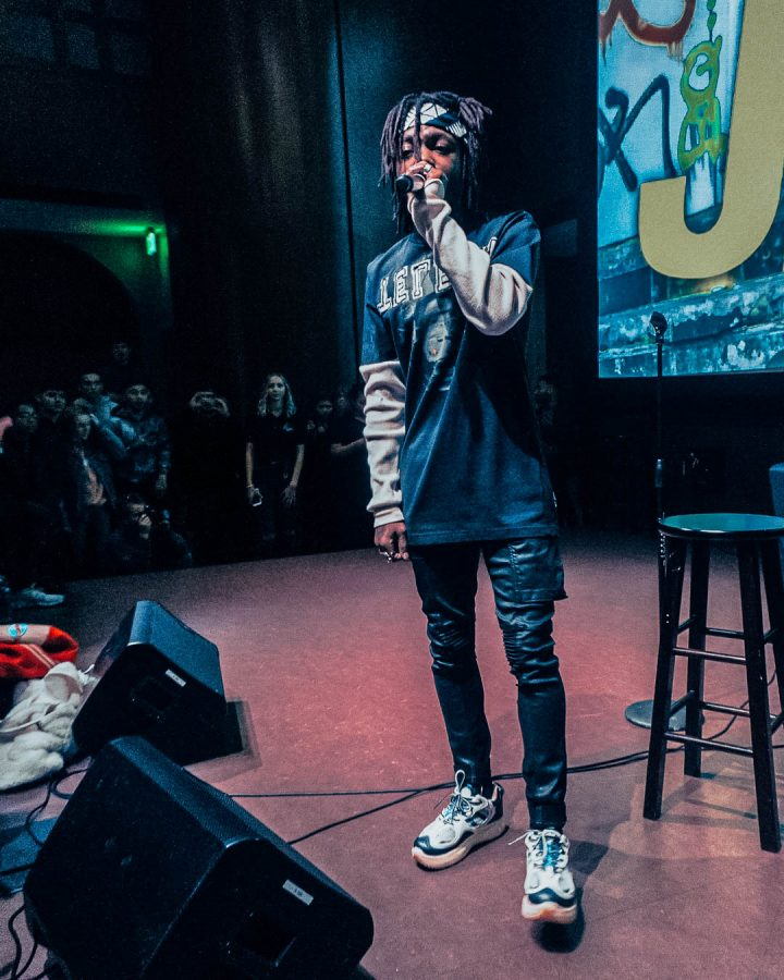 Rapper J.I.D brings Q&A session, spontaneous performance to campus