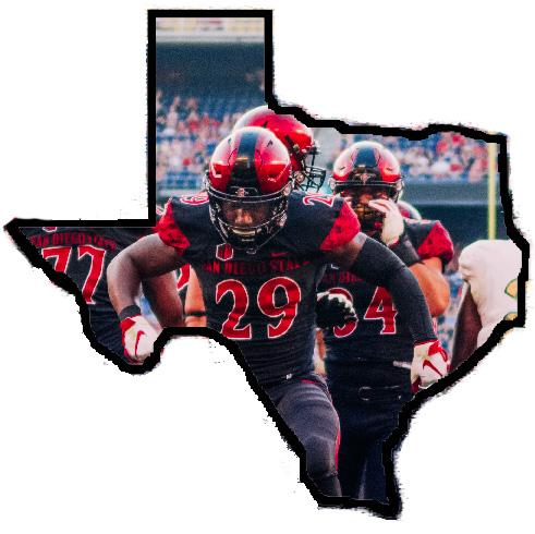 Junior running back Juwan Washington, a native of Kennedale, Texas.