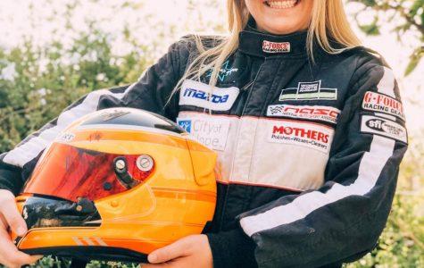 Freshman selected as finalist for Mazda-sponsored race