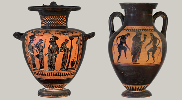 Athenian Vase Painting (Credit: The Metropolitan Museum of Art)