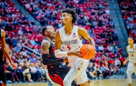 McDaniels' career-night leads Aztecs to 94-77 victory over UNLV