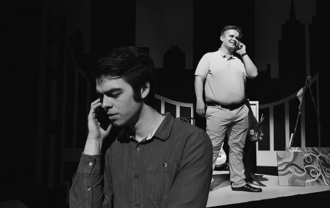 "Ben (Marcus Rutledge) listens to voicemails from his father Doug (Noah Leach) in ""To Be Alive."""