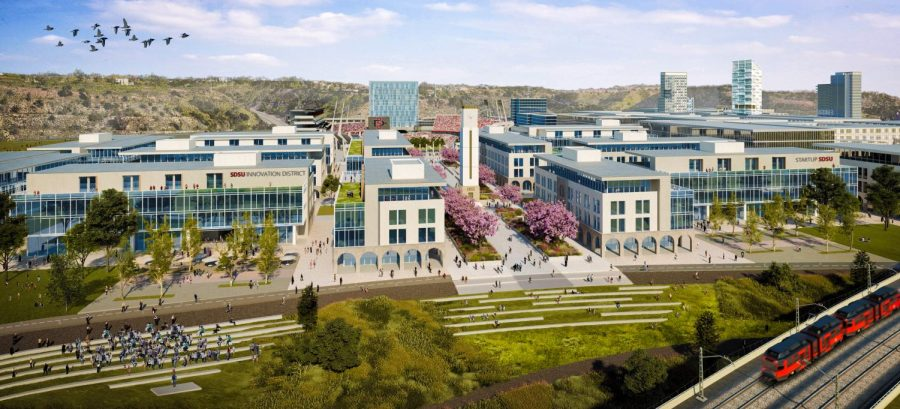 Rendering+of+the+SDSU+Innovation+District+in+Mission+Valley.