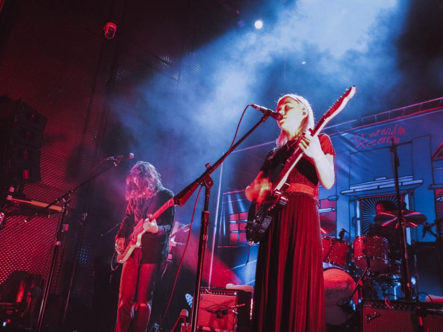 Conor Oberst and Phoebe Bridgers performed at San Diego's Music Box on March 10.