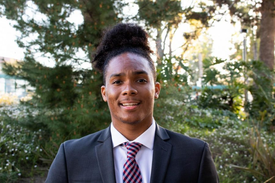 A.S. executive vice president candidate Christian Holt.