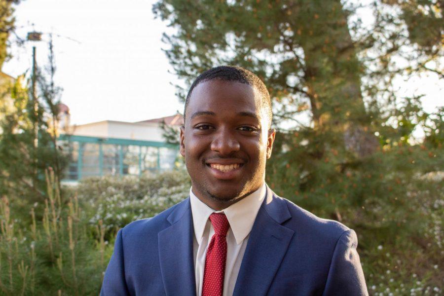 A.S. presidential candidate Christian Onwuka.