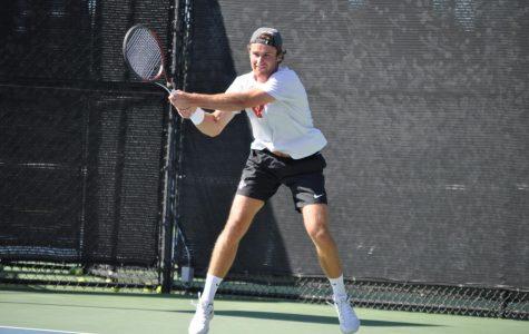 Men's tennis earns clean sweep over Eastern Washington