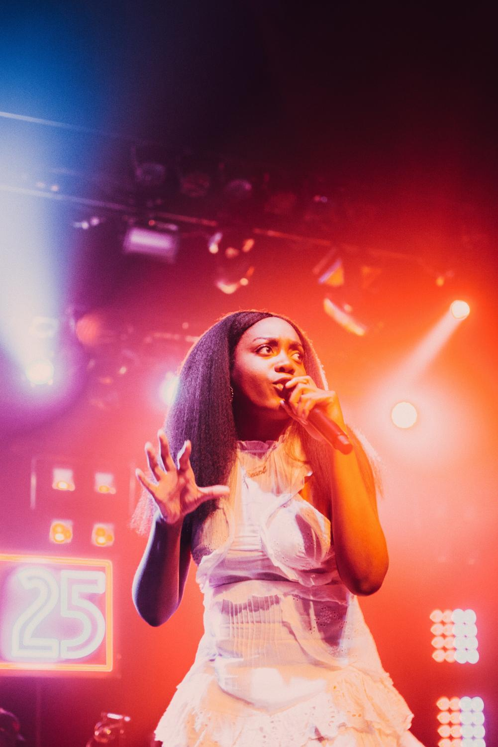 Rapper Noname performed at the Observatory in San Diego on March 16.