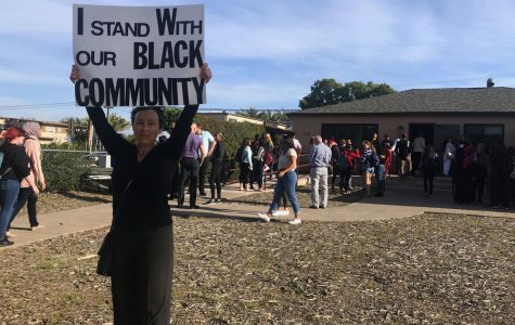 Black community, allies pledge to fight racism following break-in at Black Resource Center