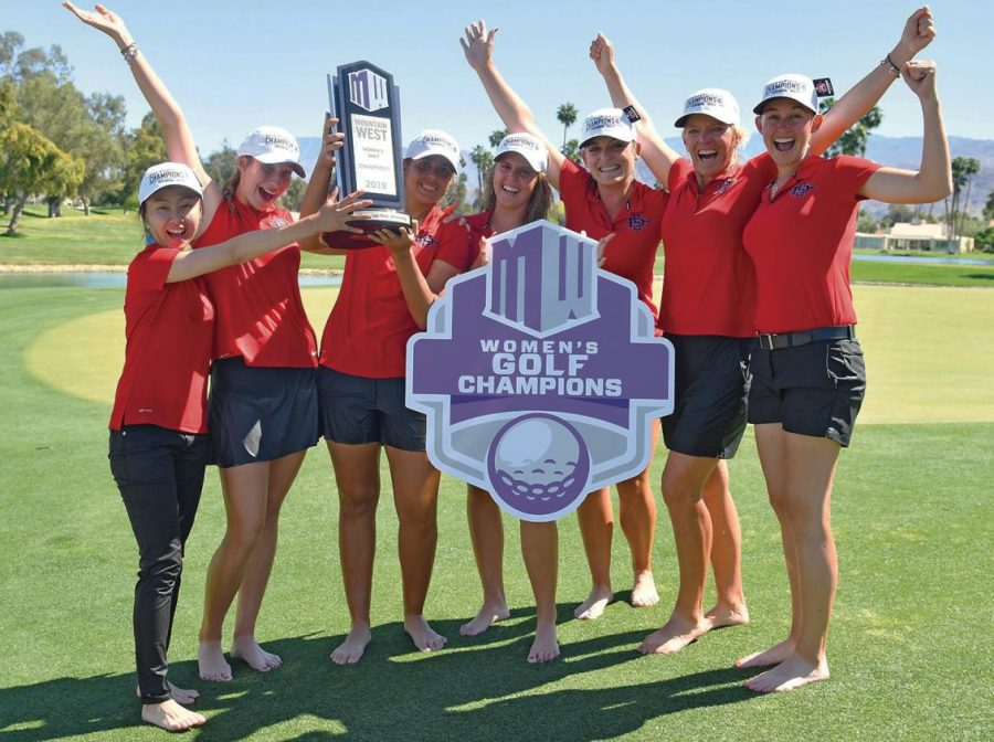 2cc9c090 Women's golf takes home Mountain West Championship – The Daily Aztec