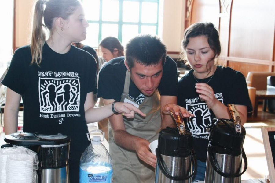 Best Buddies Brews coffee stand teaches job skills to students with disabilities