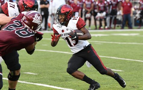 Aztecs helped by running backs, turnovers in 31-10 win over New Mexico State
