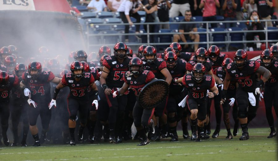 SDSU football is among the many programs across the state of California impacted by SB 206.