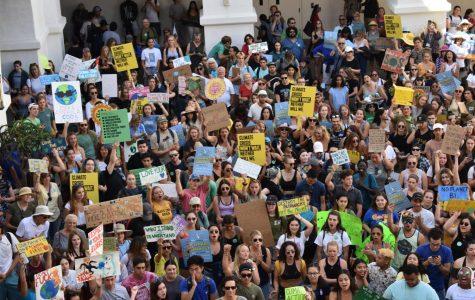 SDSU participa en la huelga mundial por el clima