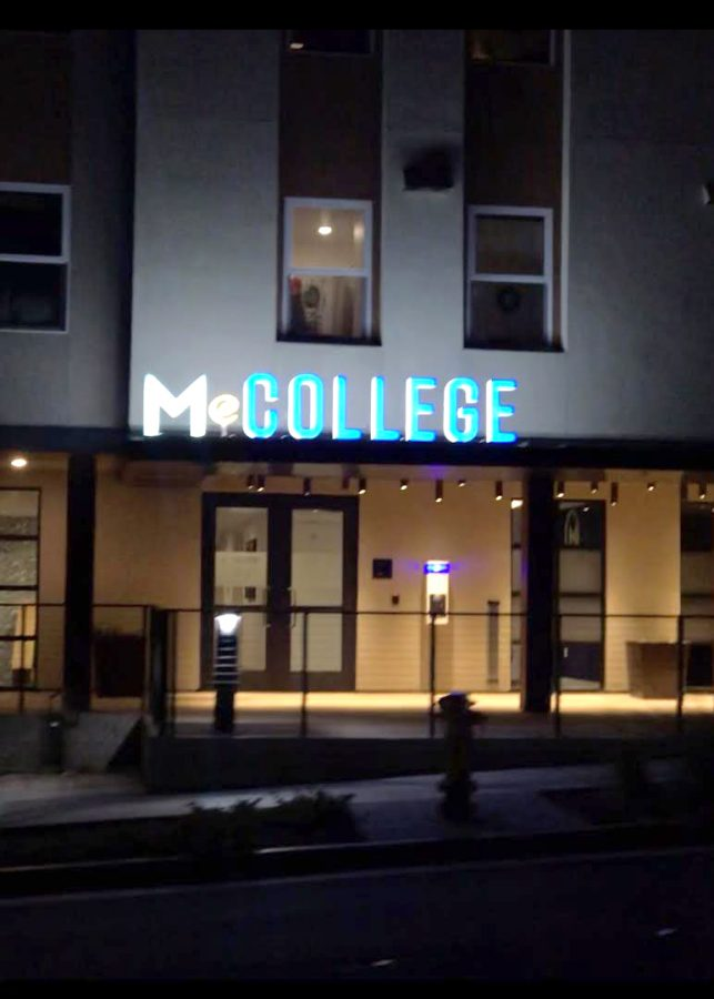New security measures are being taken by residents of M@College student apartments.