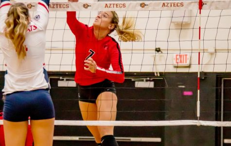 Volleyball falls to Arizona, takes of two of three in SDSU/USD Invitational