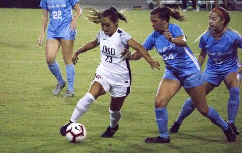 Aztecs fall 1-0 to USD in crosstown clash