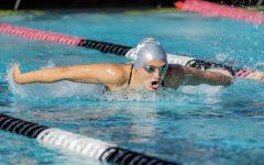 Swim & Dive takes down crosstown USD on Senior Day