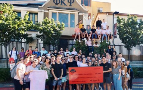 Phi Kappa Psi raised over $30,000 dollars for their breast cancer philanthropy event.