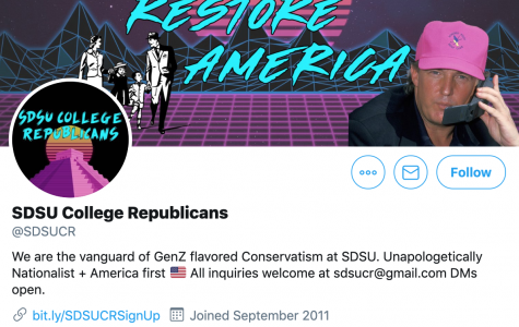 A screenshot of the College Republicans Twitter page, a key part of the organization's rebrand.