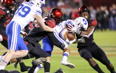 San Diego State shuts down BYU 13-3 in regular-season finale