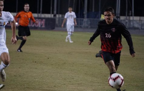 Men's soccer drops final home game in 1-0 loss to UCLA