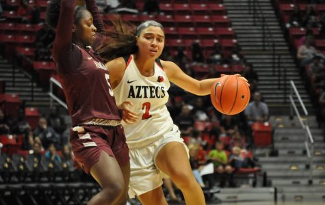 Aztecs' cut 24-point deficit to five but fall to Alabama A&M