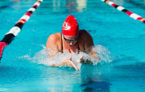 Swimmer qualifies for Olympic Time Trials in breaststroke