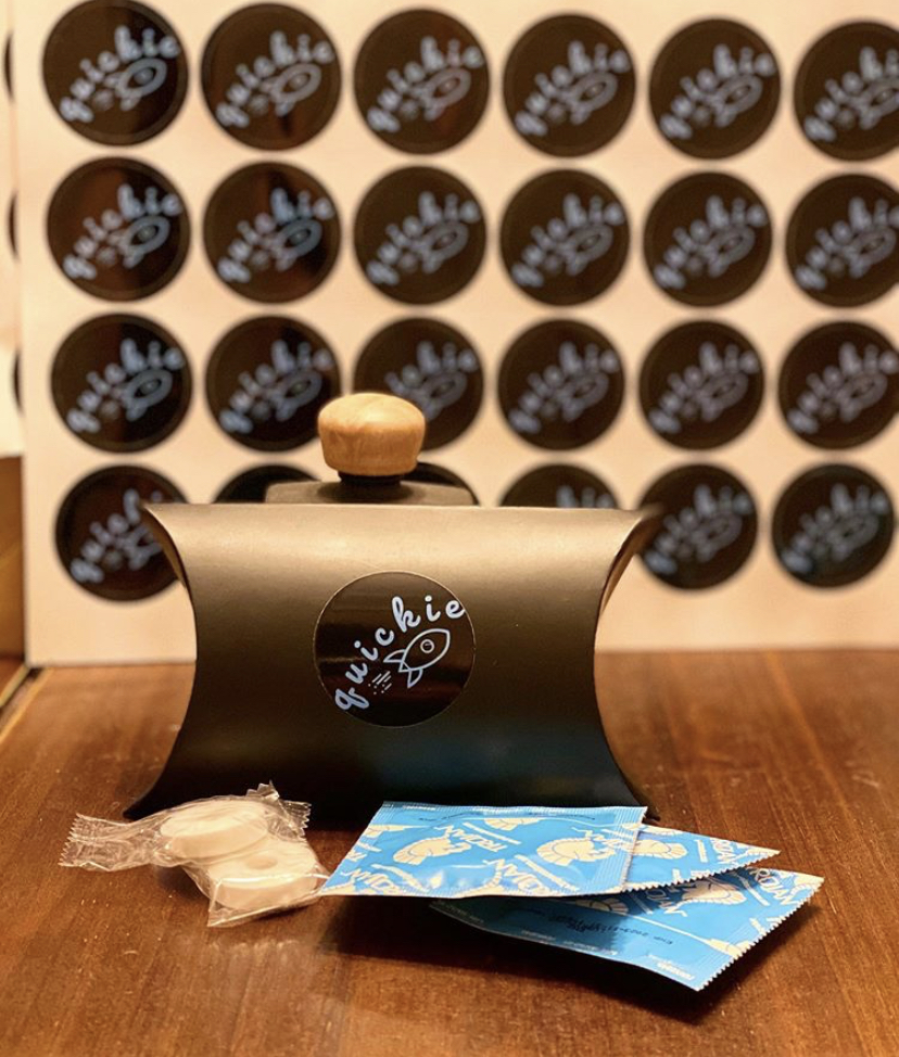 Quickie Delivery provides condoms and mints to SDSU students.