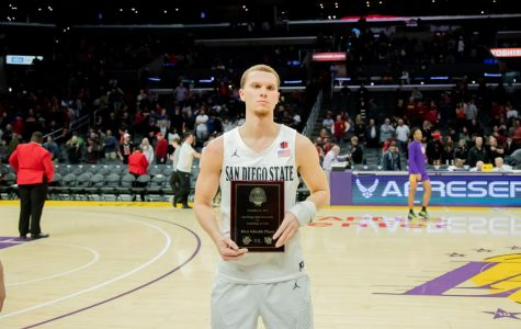 Junior guard Malachi Flynn had 16 points, 3 rebounds and 8 assists and was named the Basketball Hall of Fame Classic MVP.